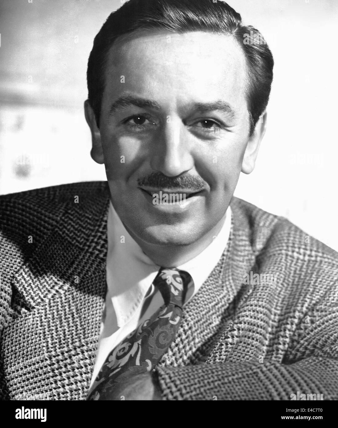 Walt Disney (1901-1966), Portrait, 1948 Stock Photo ...