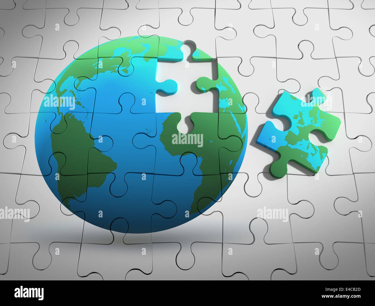 puzzles of the earth