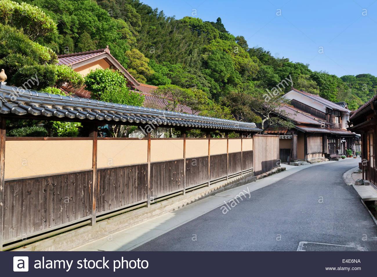Shimane Japan  city photos : Iwamiginzan, Omori, Shimane, Japan Stock Photo, Royalty Free Image ...