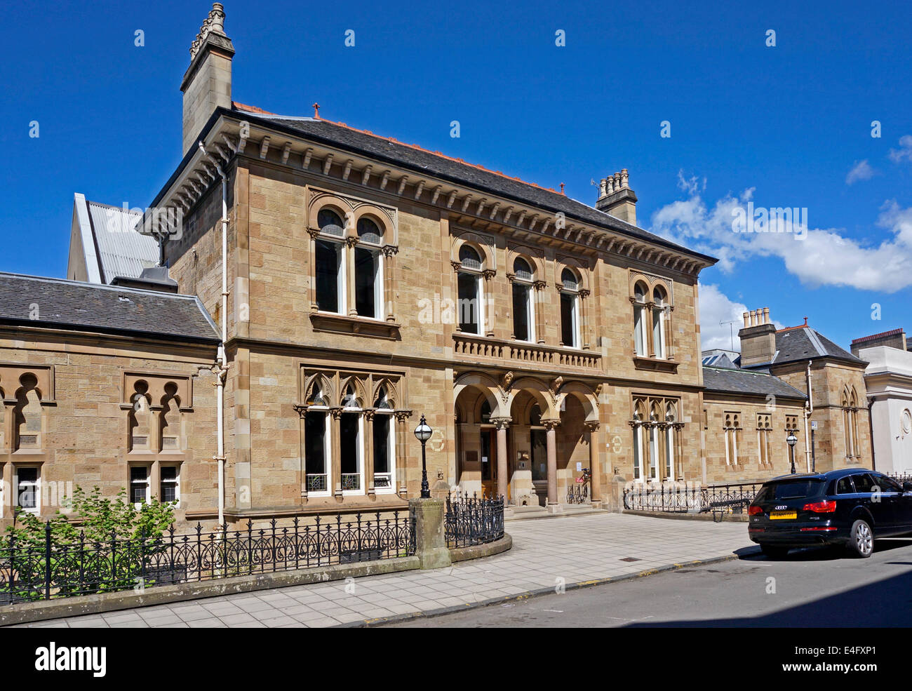 Entrance To Western Baths Club In Glasgow West End Scotland Stock Photo Royalty Free Image