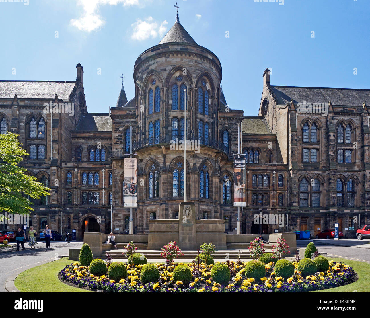 University of Glasgow entrance to Visitor Centre ...