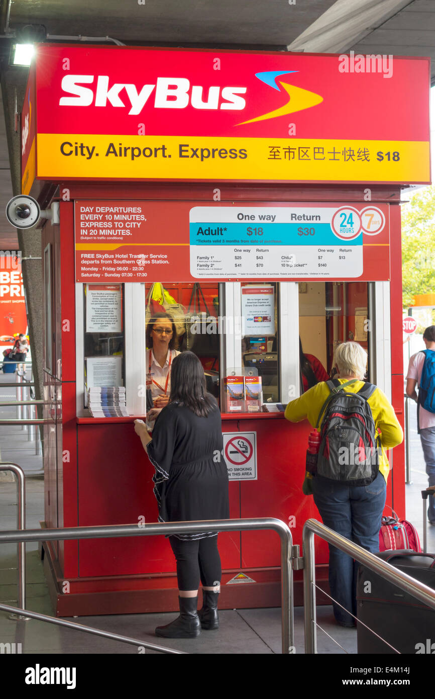 how to buy skybus tickets at the melb airport