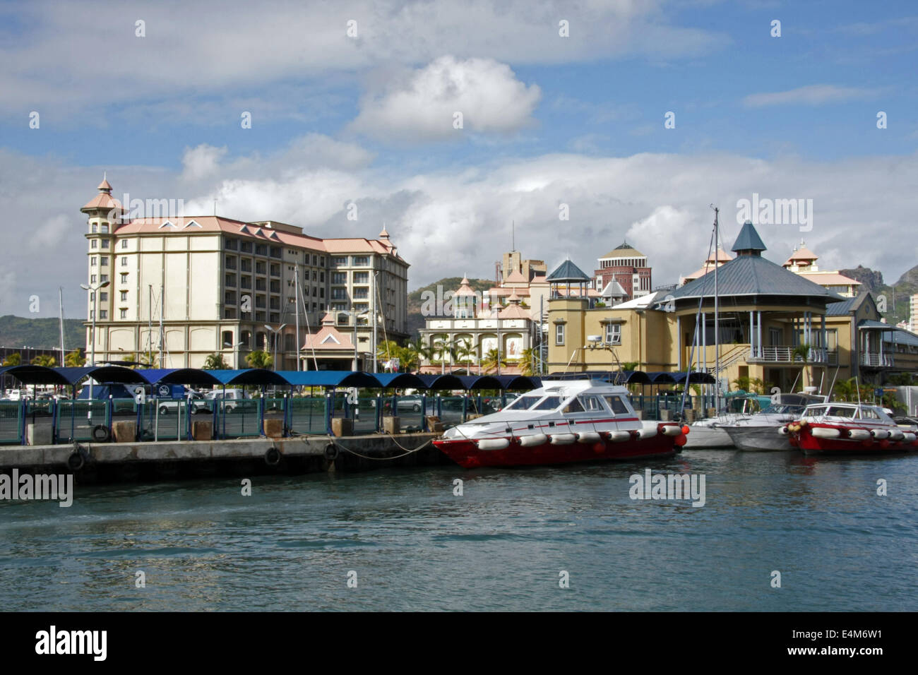 The labourdonnais hotel marina and other buildings in - Where is port louis mauritius located ...