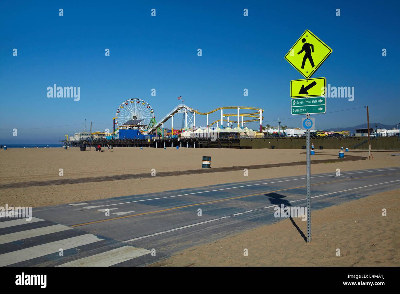 Santa Monica To Venice Beach Bike Path And Pacific Park Santa