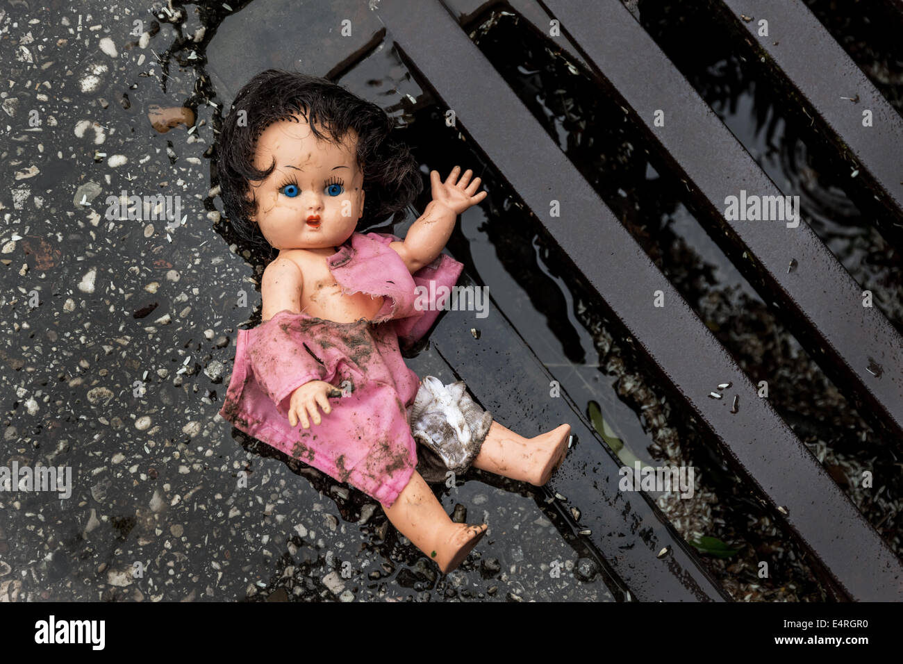 Graphic photos of child abuse