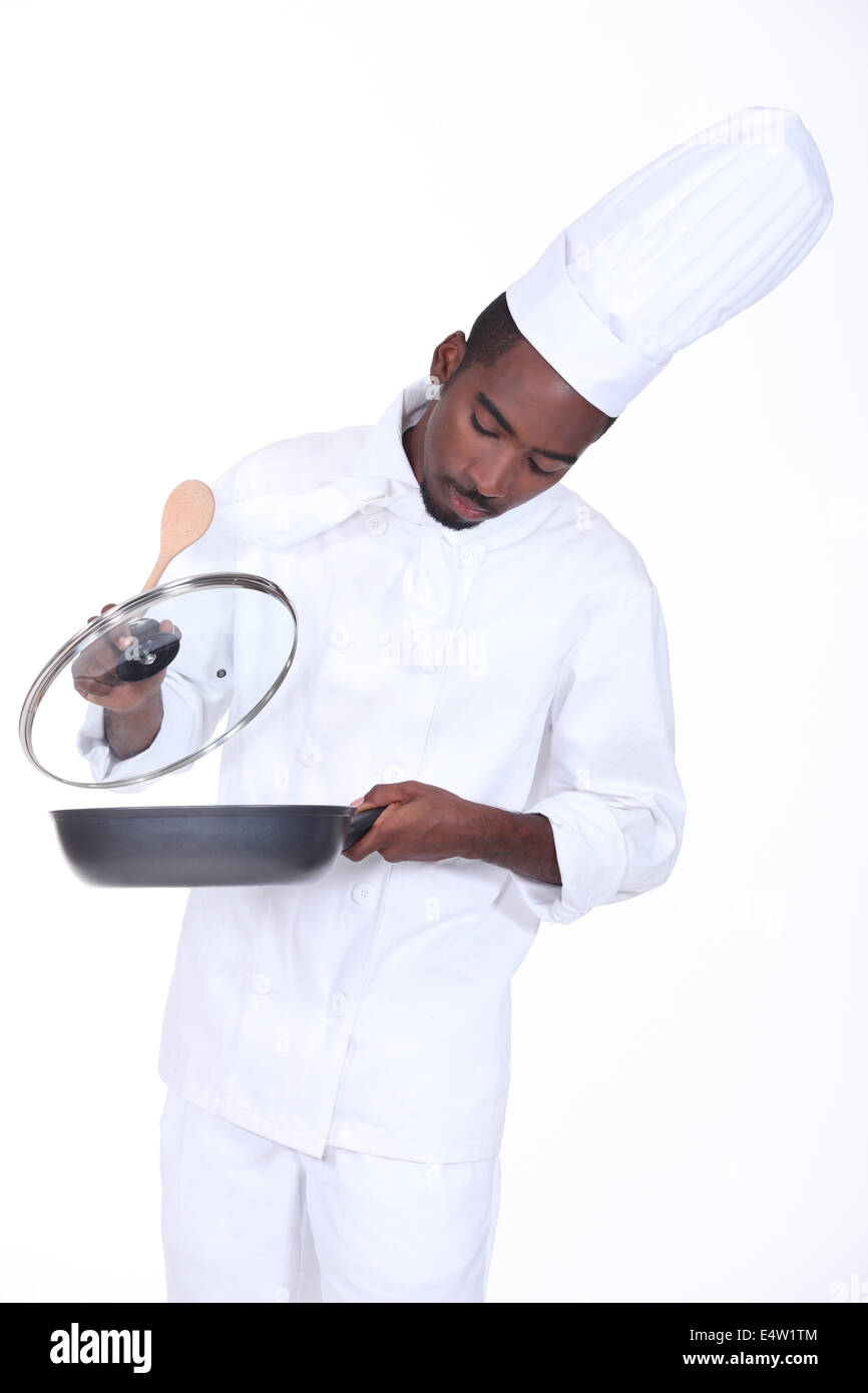 Chef in the kitchen Stock Photo, Royalty Free Image: 71850372 - Alamy