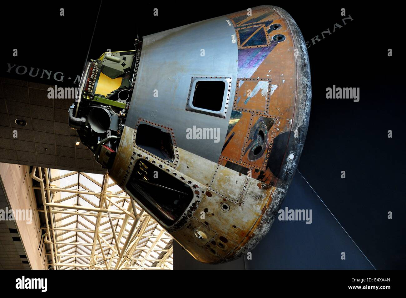 Gemini  Space Capsule On Display At The Neil Armstrong Air And - Nasa museums in usa