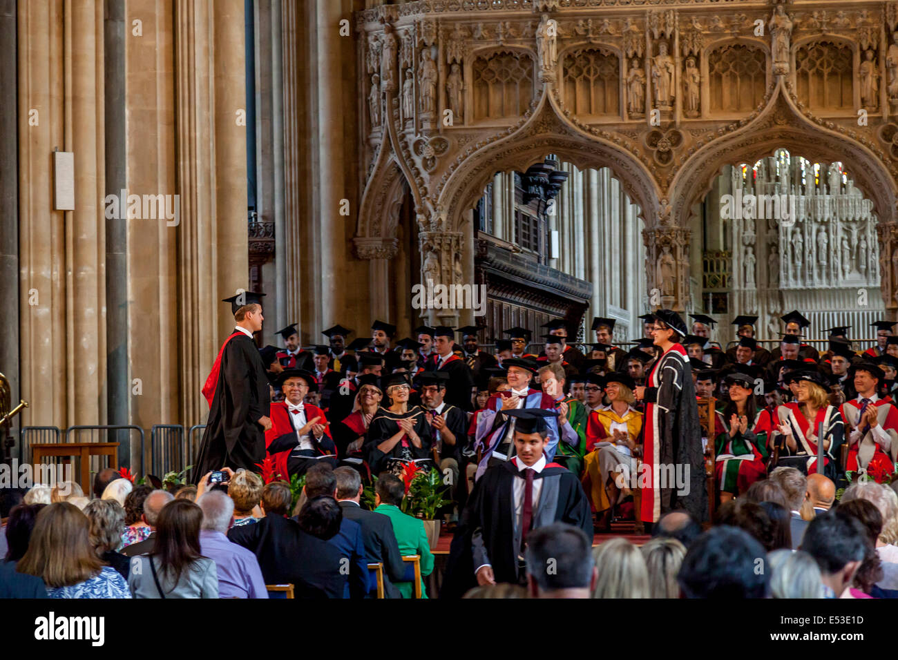Student Daniel Rooney Accepting His Award For A First Class Degree In  Business Studies At The University Of Western England  First Class Degree