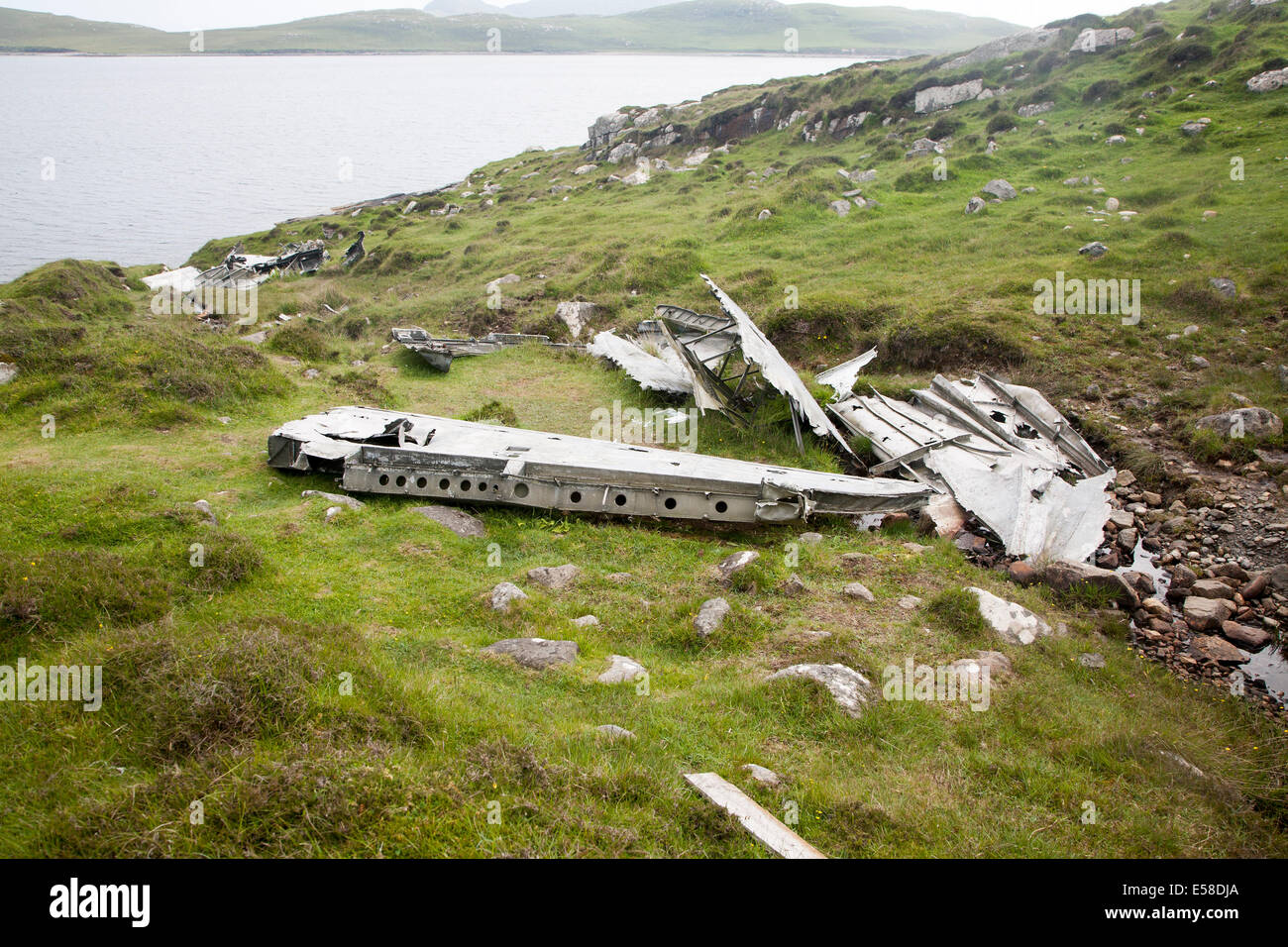 Wreckage at the catalina plane crash site may 1944 on for The catalina