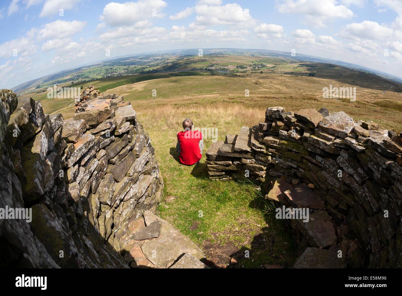 man-enjoying-the-view-from-a-circular-st