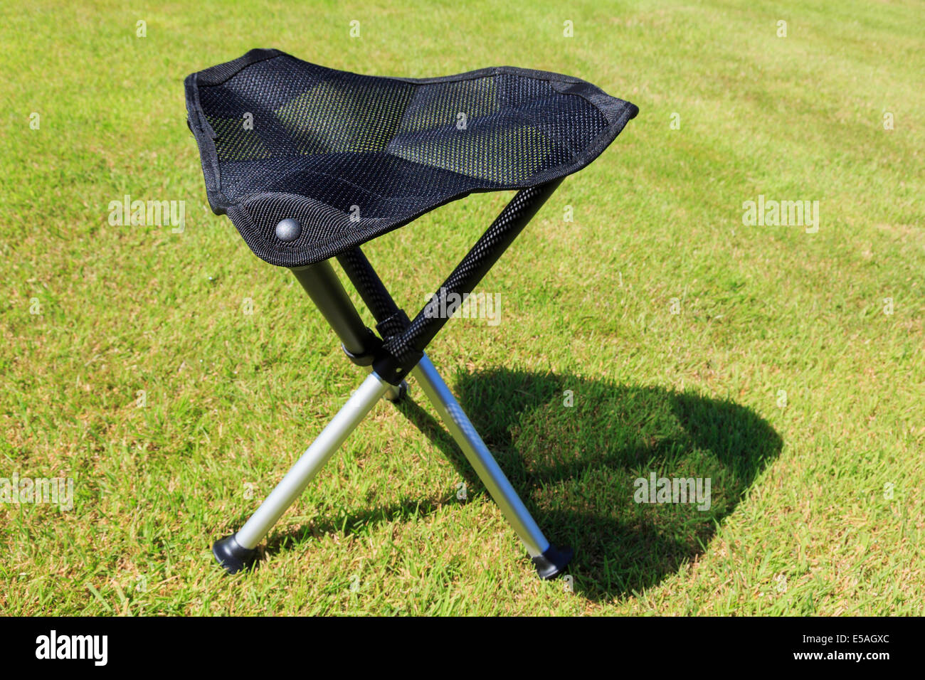 Folding Portable Three Legged Tripod Camping Stool With A