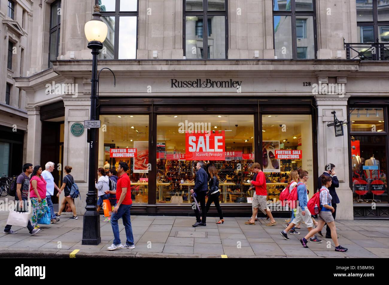 Shoe Shops Regent Street