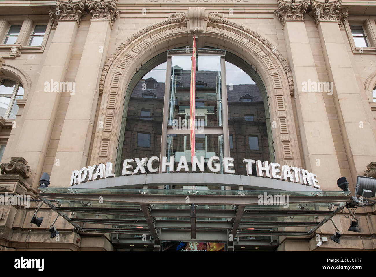 Exterior Manchester Uk Exterior Facade of Royal Exchange Theatre, Manchester, England, UK