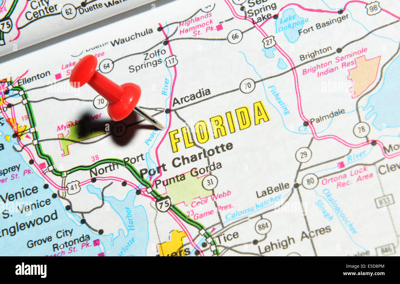 Florida On Us Map Globalinterco - Us on the map