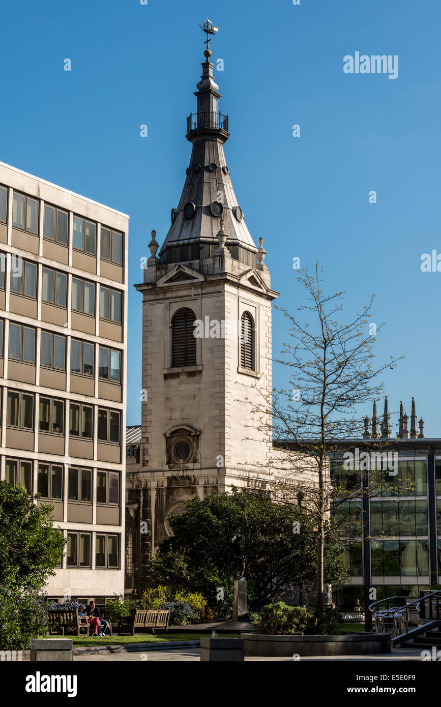 St Nicholas Cole Abbey Is A Church In The City Of London Located - Where is london located