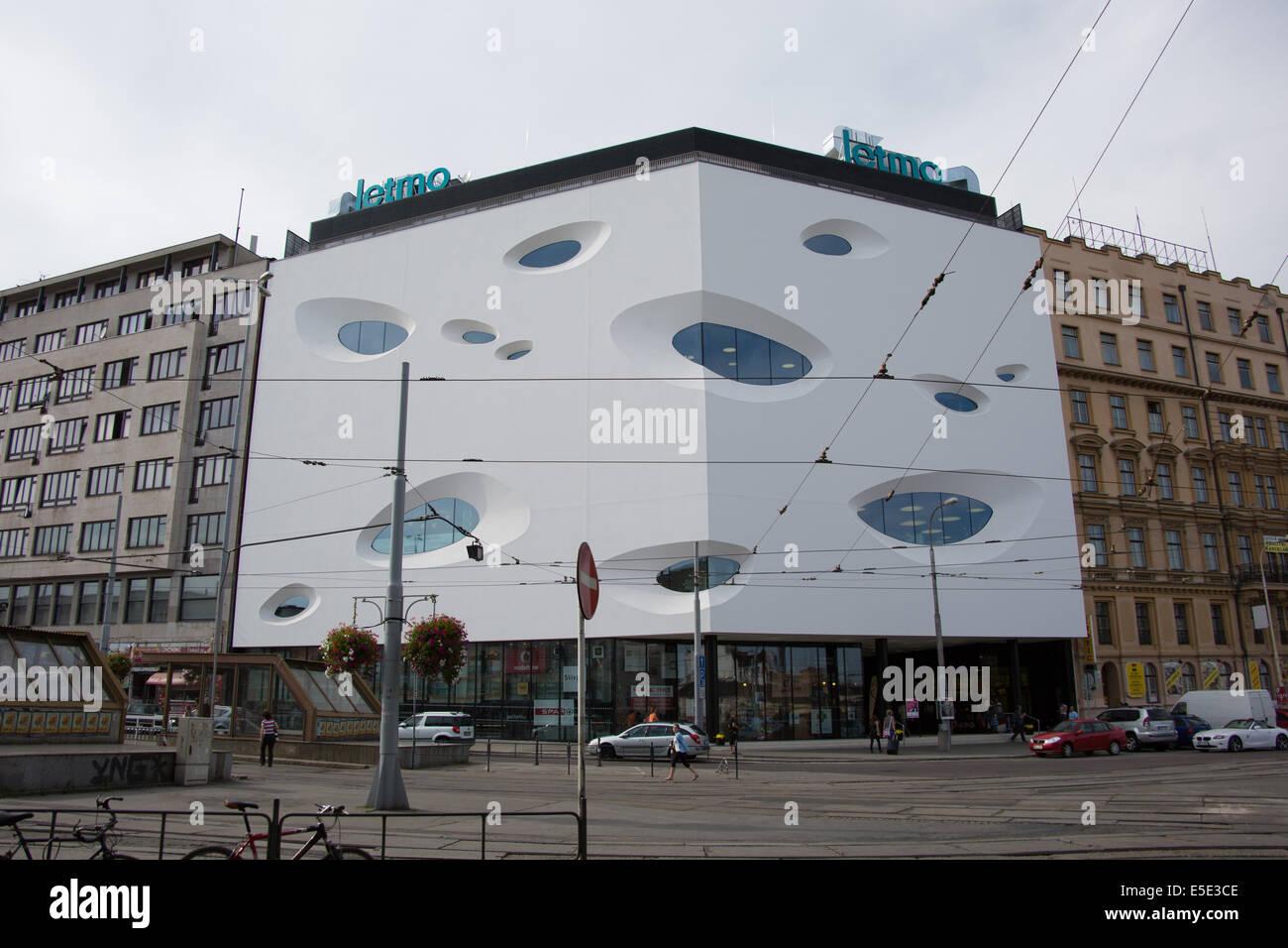 Modern Opposite Modern Building Opposite The Railway Station In Brno Czech