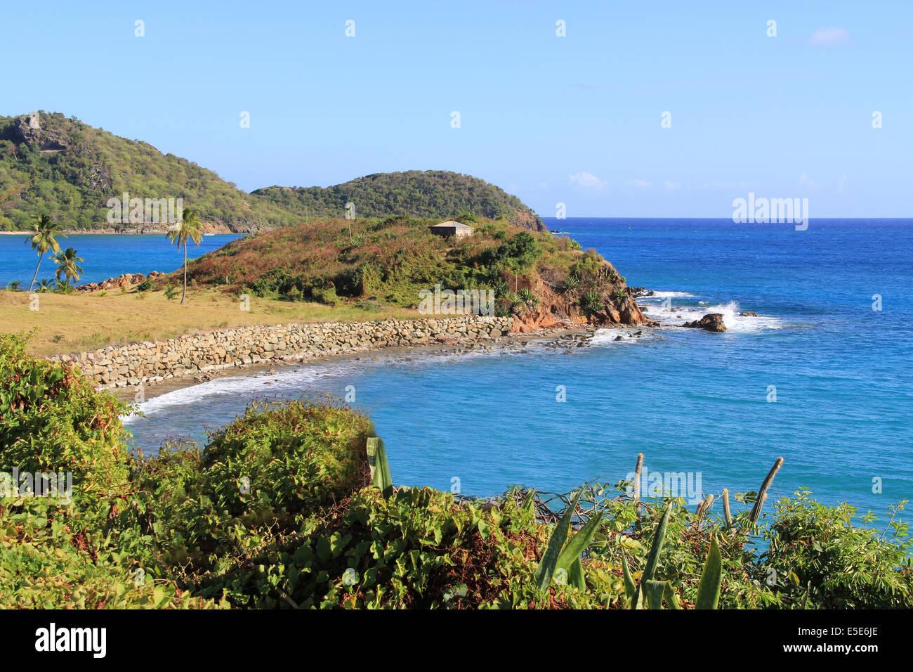 Barbuda Coastline Stock Photo, Royalty Free Image: 36554486 - Alamy