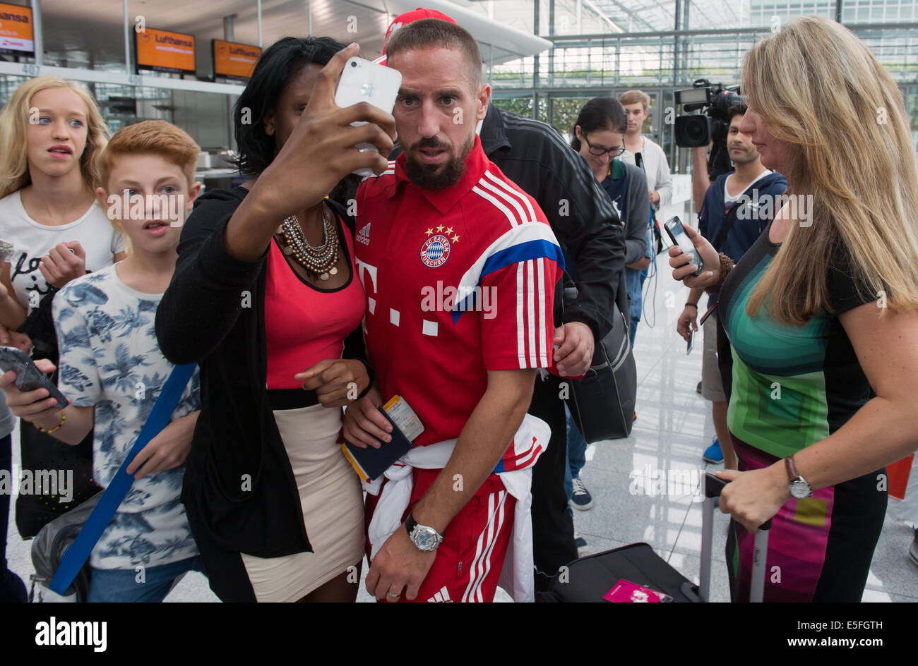 Franck Ribery Wife 2014