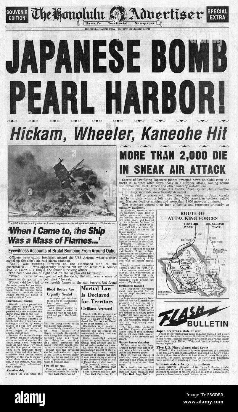 Paper on pearl harbor