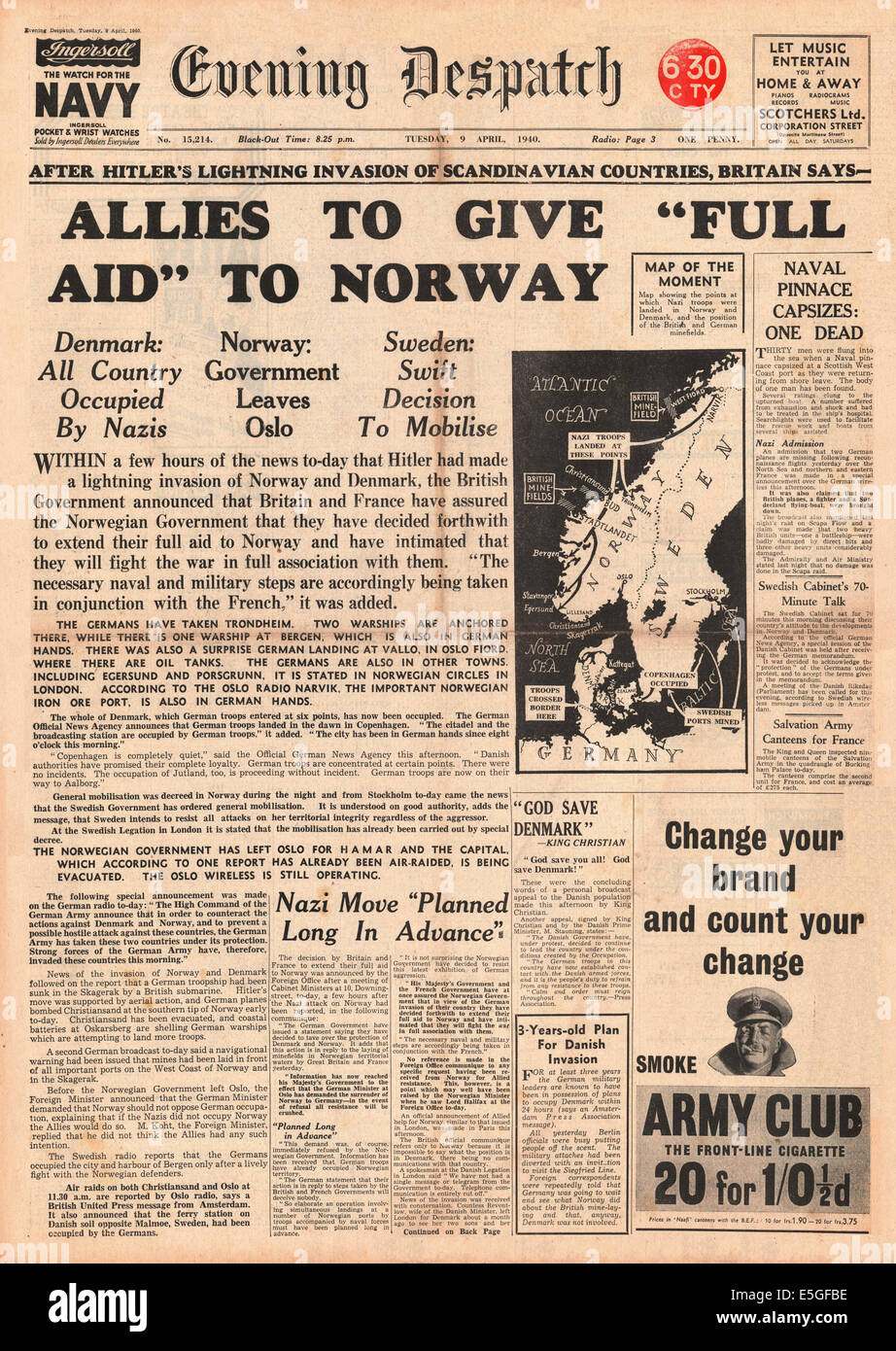 http://c8.alamy.com/comp/E5GFBE/1940-evening-despatch-front-page-reporting-the-german-invasion-of-E5GFBE.jpg