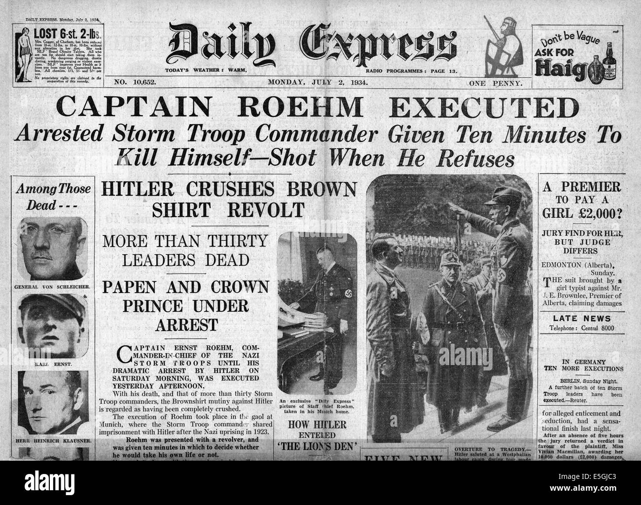 1938-daily-express-front-page-reporting-