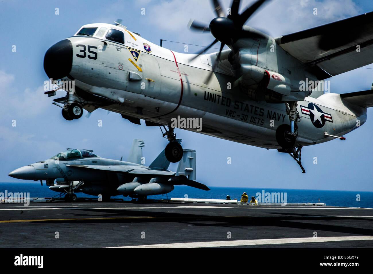 C 2a Greyhound Logistics Aircraft A U S  Navy C-2A Greyhound
