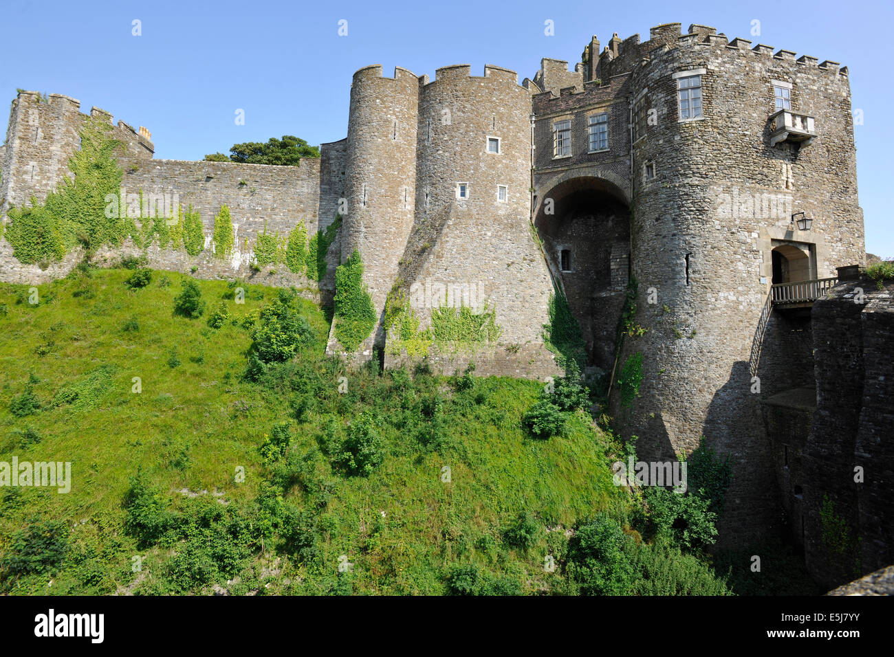 Dover castle dover kent england uk the constables gate stock dover castle dover kent england uk the constables gate sciox Image collections