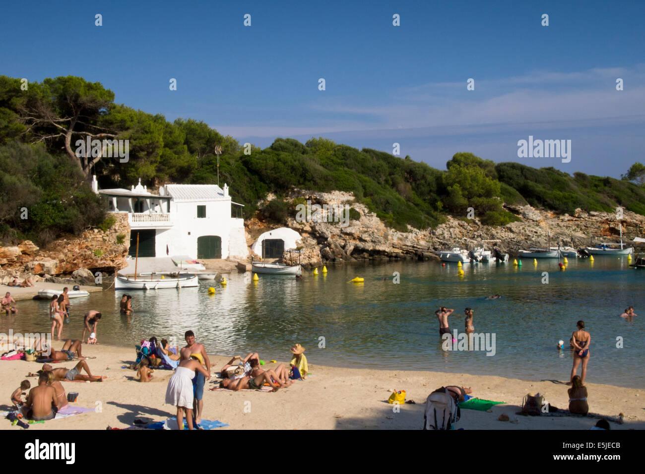 Popular little beach cove of binisafua on south east coast for Small east coast beach towns