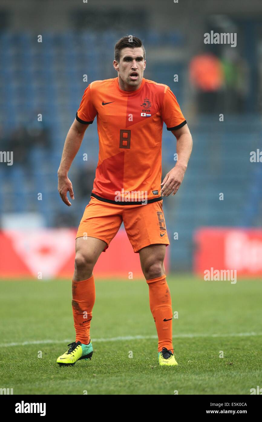 Genk Belgium 16th Nov 2013 Kevin Strootman NED Football