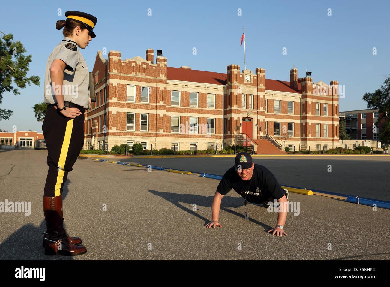 Police Training: Royal Canadian Mounted Police Training
