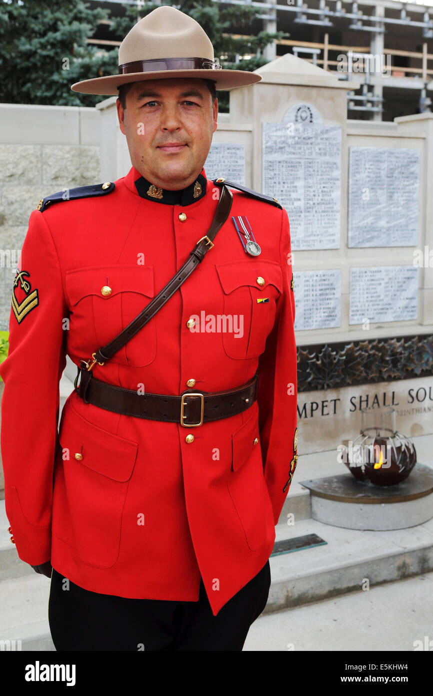 Canadian police uniform
