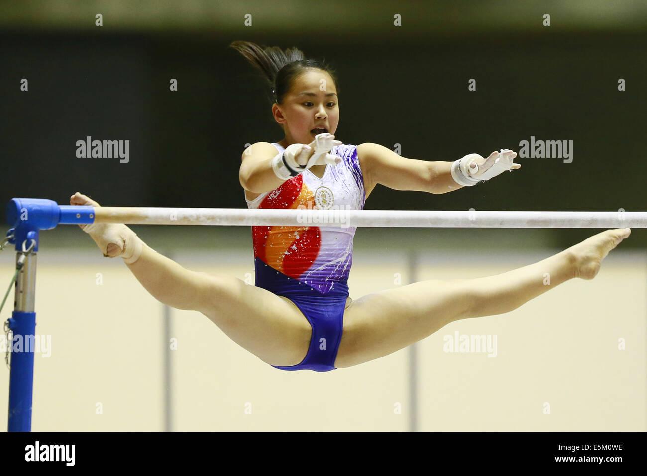mai murakami Mai Murakami (Meisei), August 4, 2014 - Artistic Gymnastics : 2014  All-Japan Inter High School Championships, Women's Artistic Gymnastics  Final at Yoyogi ...