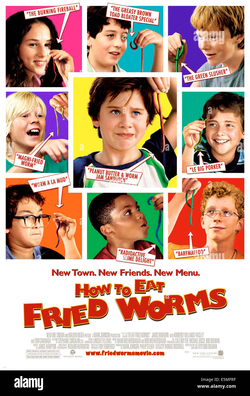 How To Eat Fried Worms, Clockwise From Top Left: Hallie Kate Eisenberg,  Austin