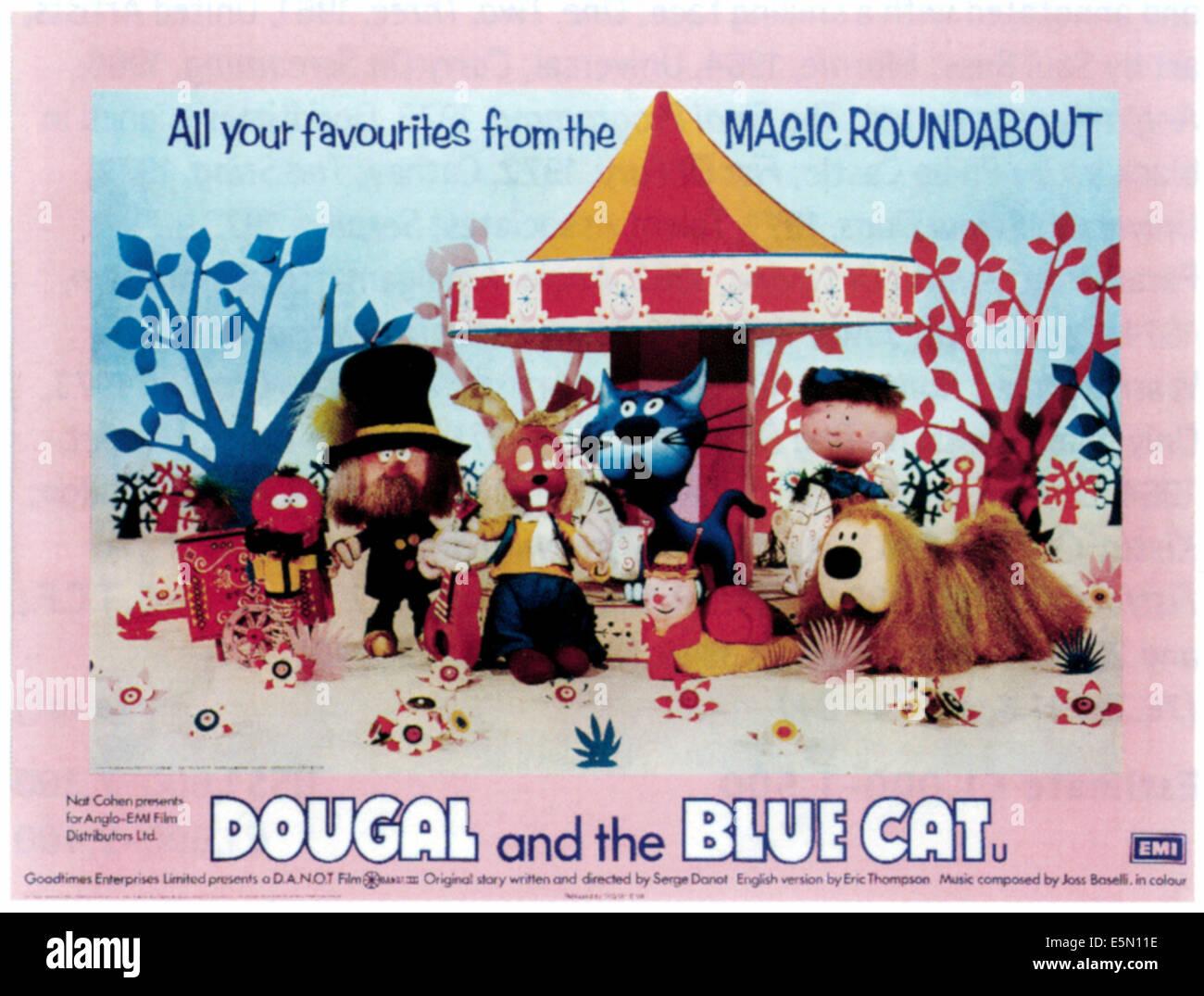 Dougal Blue Cat Stock s & Dougal Blue Cat Stock Alamy