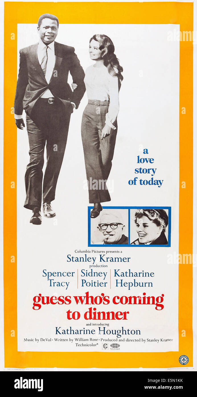 flaws of society as depicted in stanley kramers guess whos coming to dinner But do you remember why stanley kramer's 1967 film guess who's coming to dinner, which is being including how he maneuvers the world and his own flaws and.