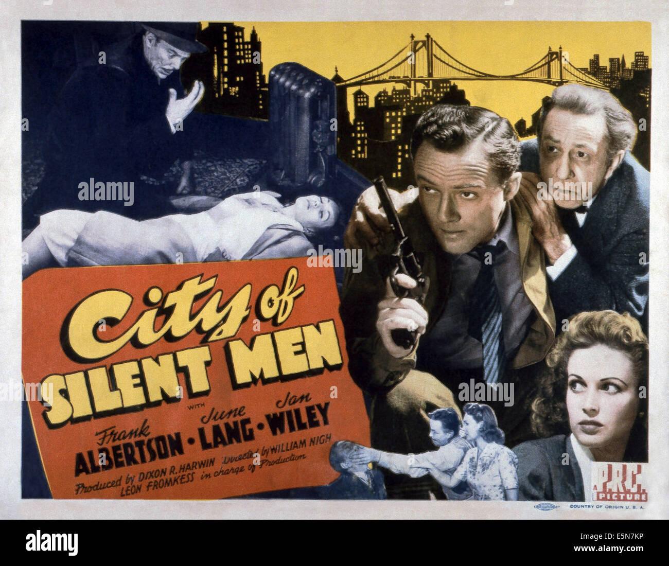 city of silent men 1942 movie