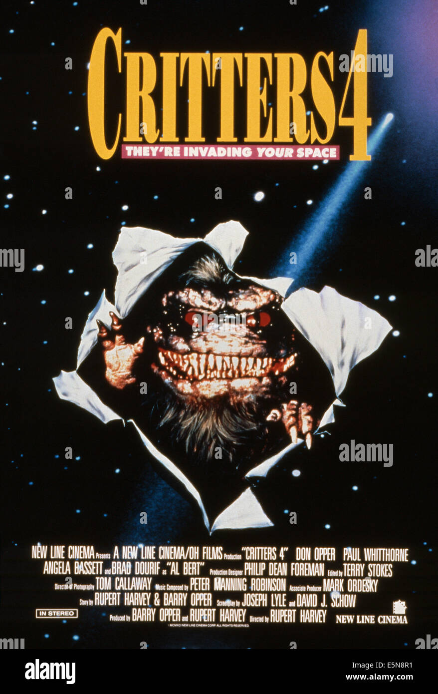 critters 4 us poster 1992 169new line cinemacourtesy