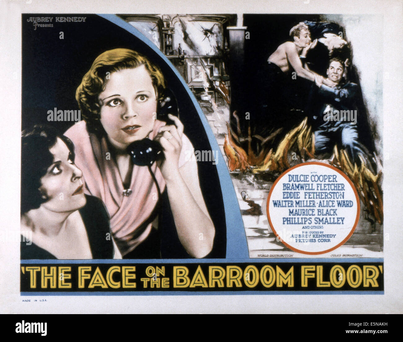 The Face On The Barroom Floor From Left Alice Ward