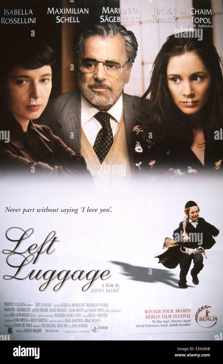 ISABELLA ROSSELLINI LEFT LUGGAGE (1998 Stock Photo, Royalty Free ...