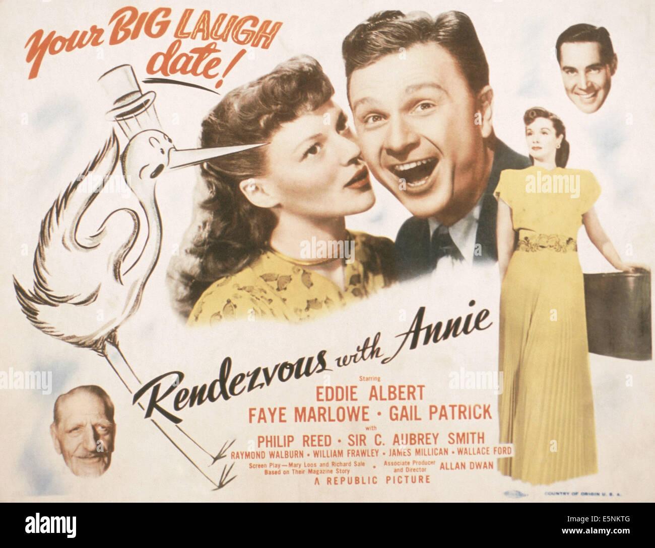 Risultati immagini per rendezvous with annie film 1946