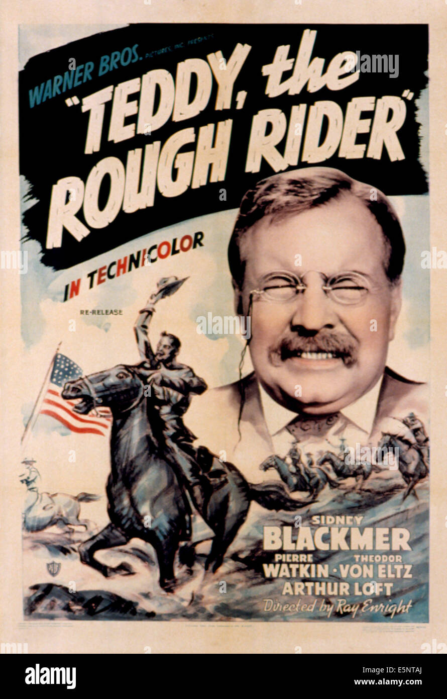 pince nez stock photos pince nez stock images alamy teddy the rough rider sidney blackmer 1940 stock image
