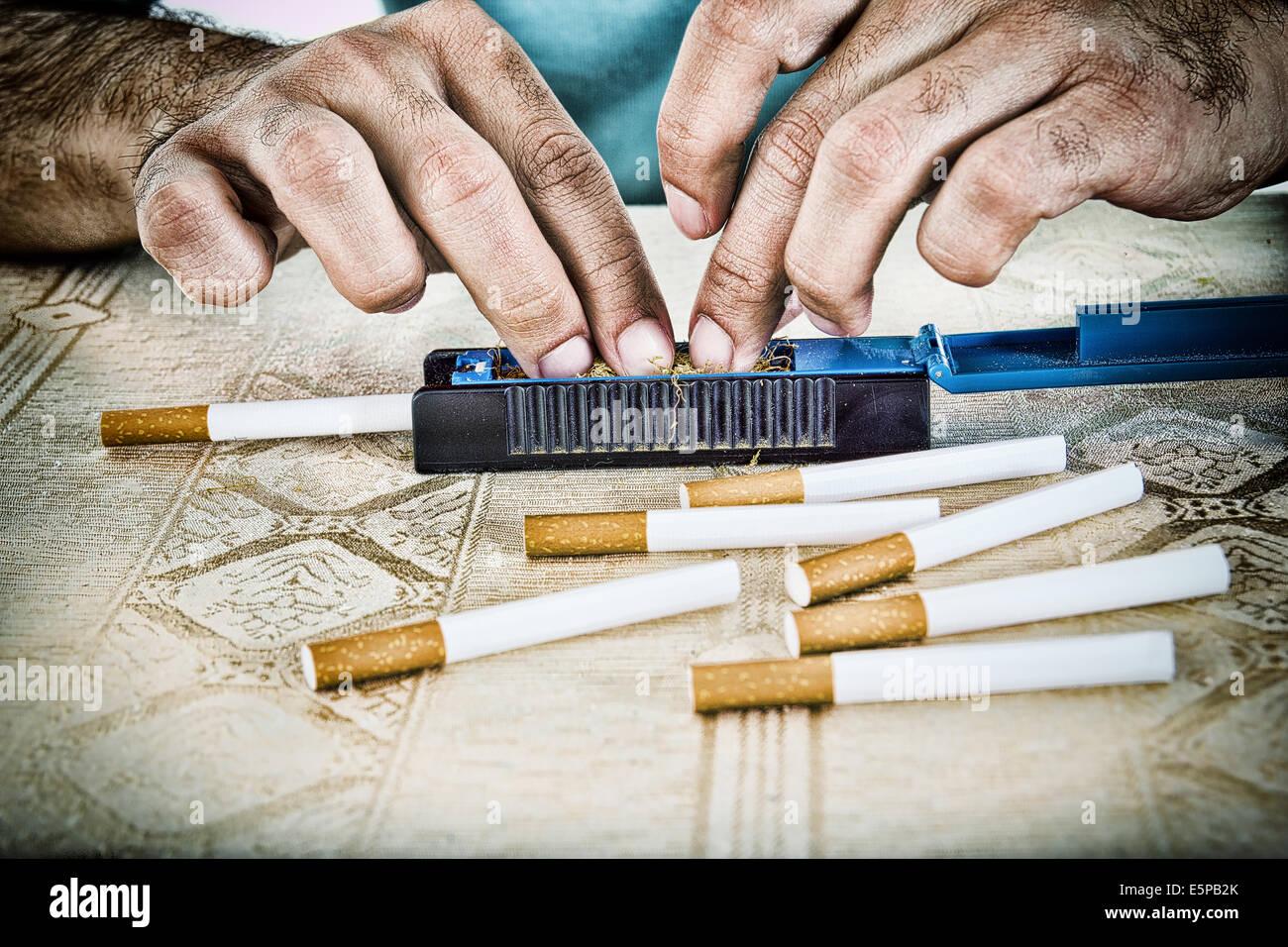 Как из табака сделать сигареты самому