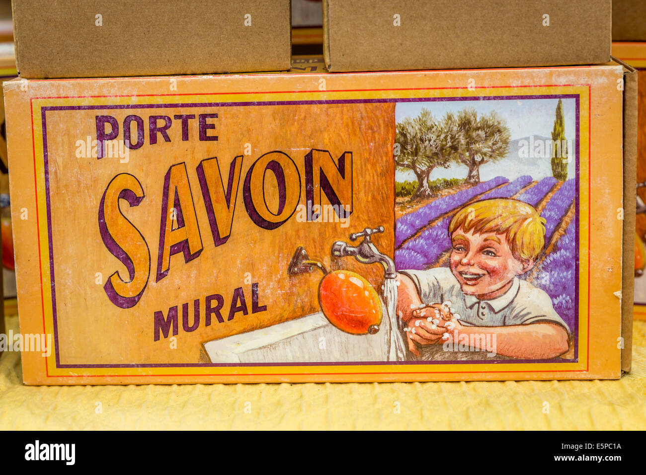 closeup label porte savon mural lavender soap provence. Black Bedroom Furniture Sets. Home Design Ideas