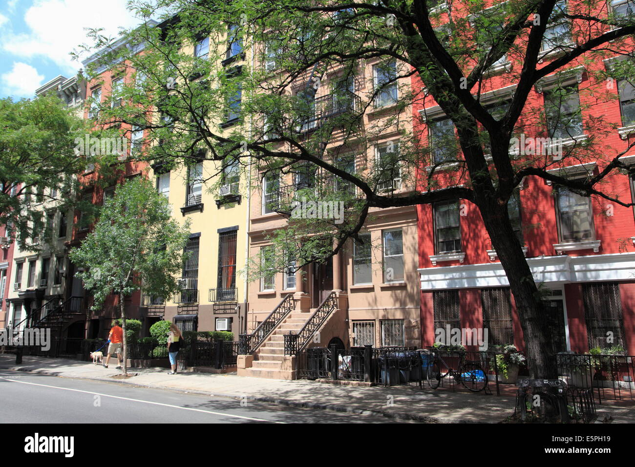 Apartment Buildings, East Village, Alphabet City, Manhattan, New York City,  United States Of America, North America