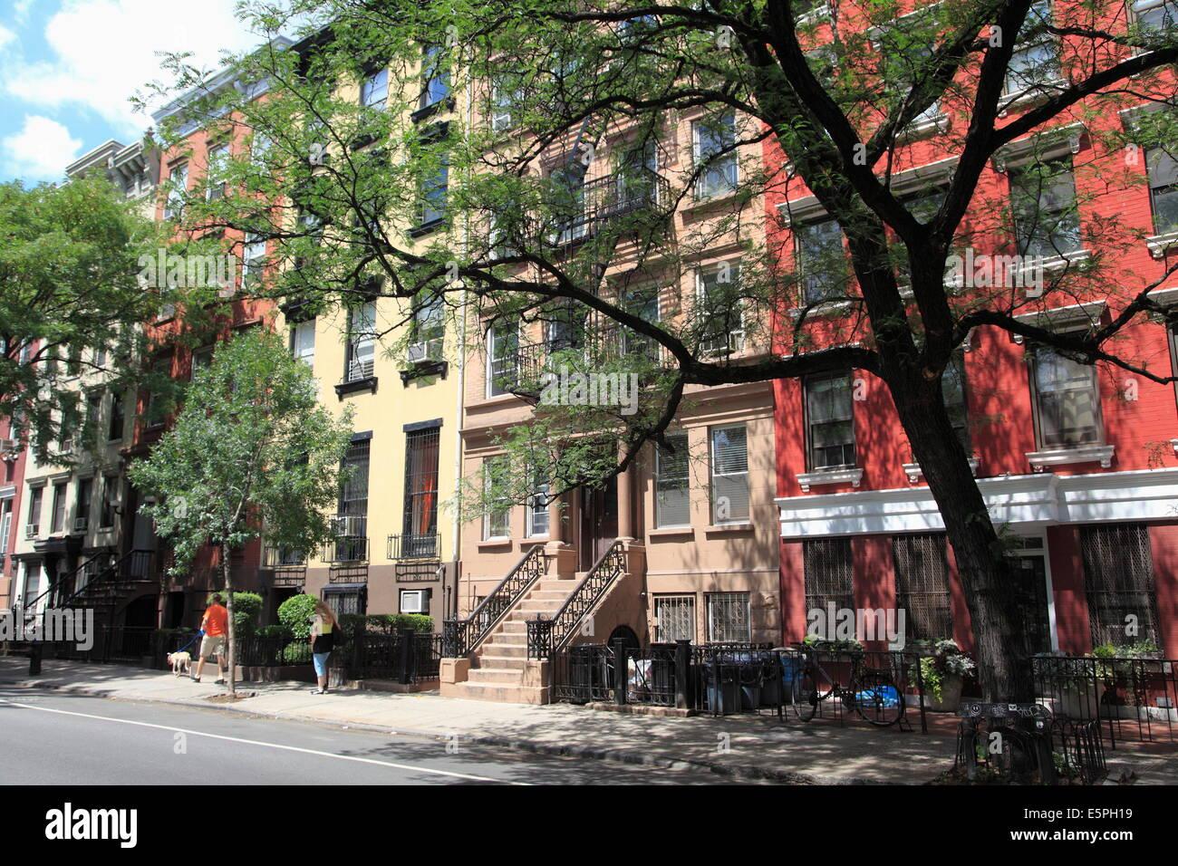Apartment Buildings, East Village, Alphabet City, Manhattan, New York City,  United States Of America, North America