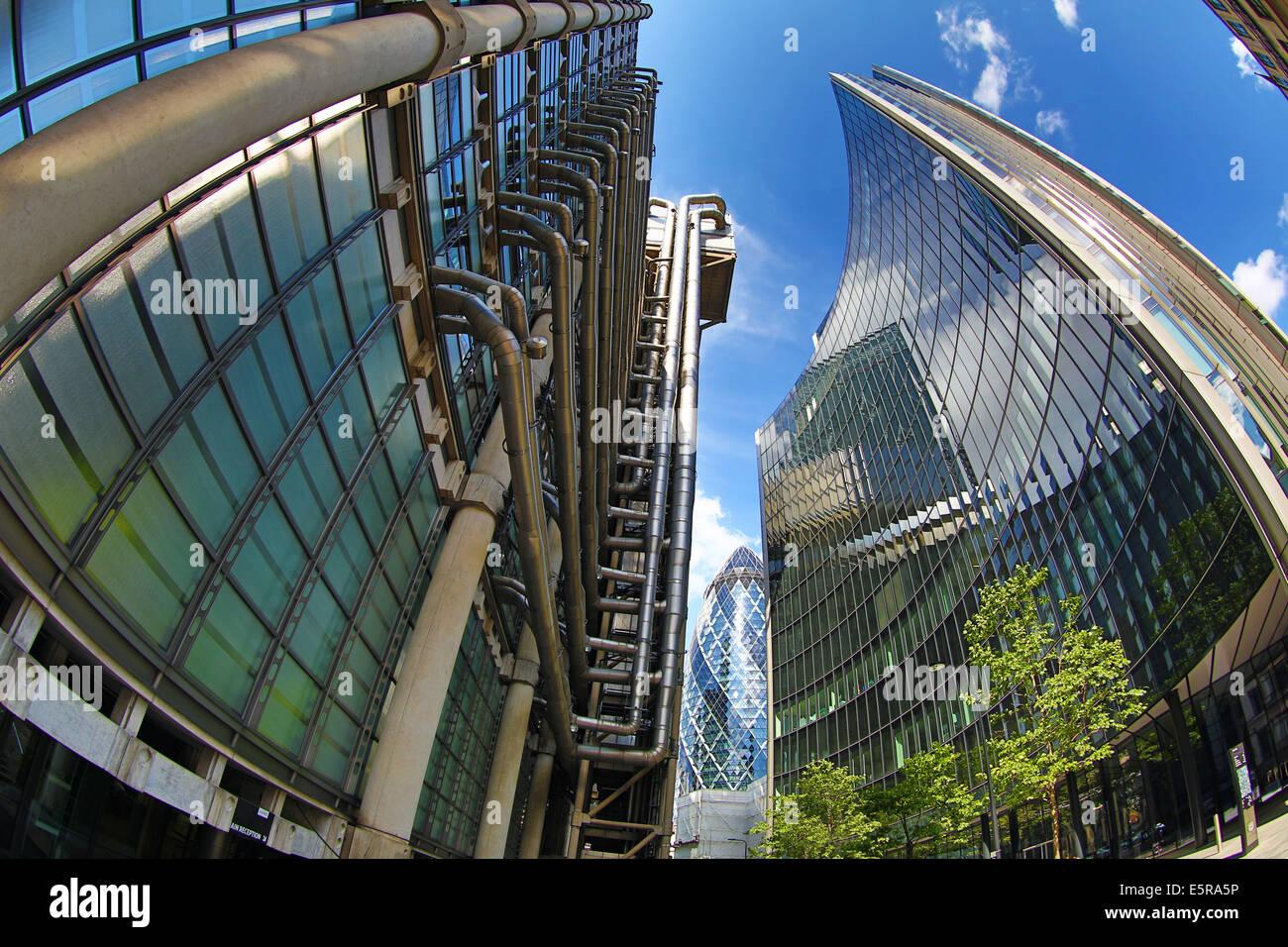 Modern Architecture London England modern architecture of lloyd's of london building, london, england