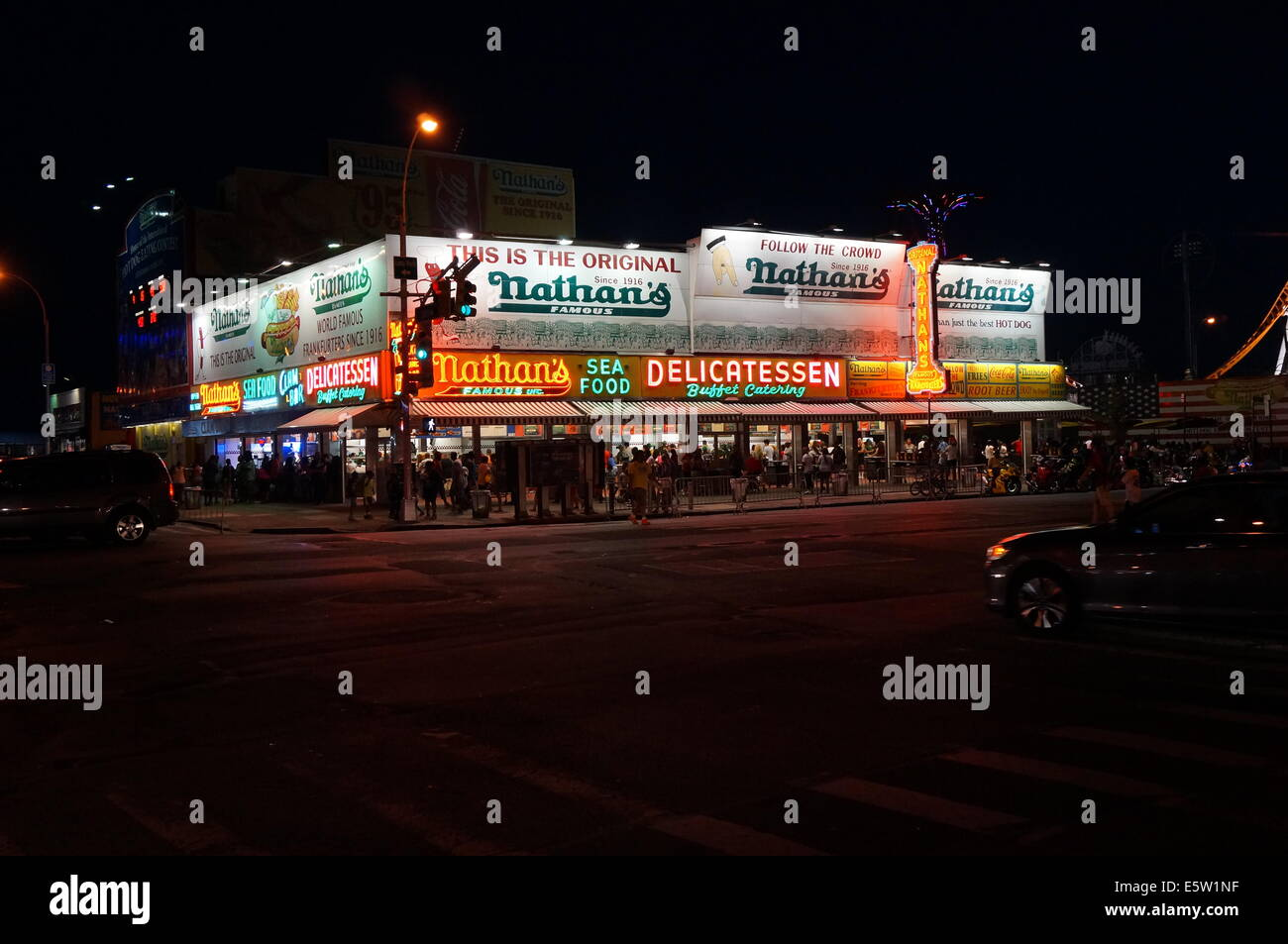 Nathans Famous Coney Island Account