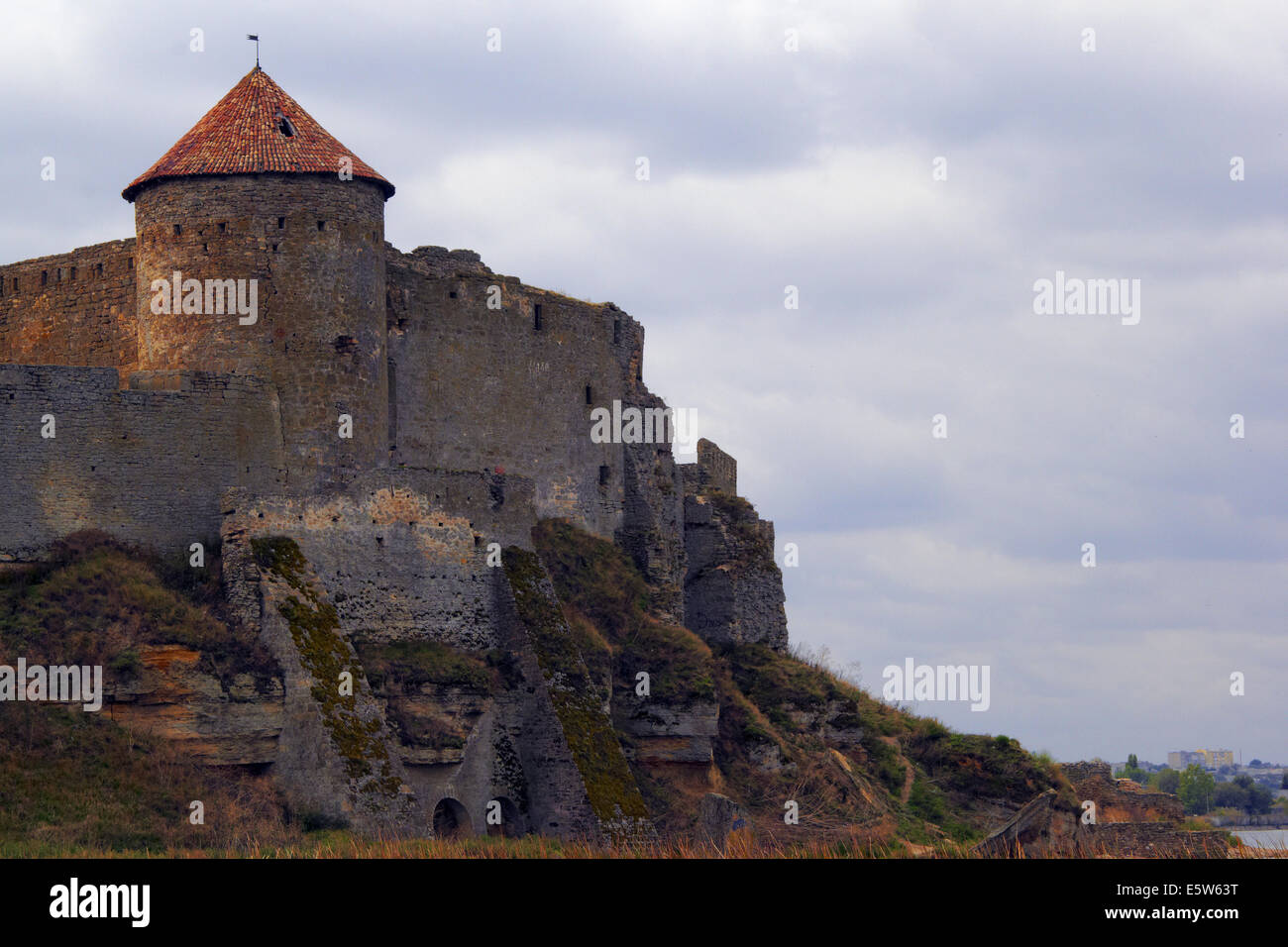 Attractive Old Military Fortress In Ukraine Photo