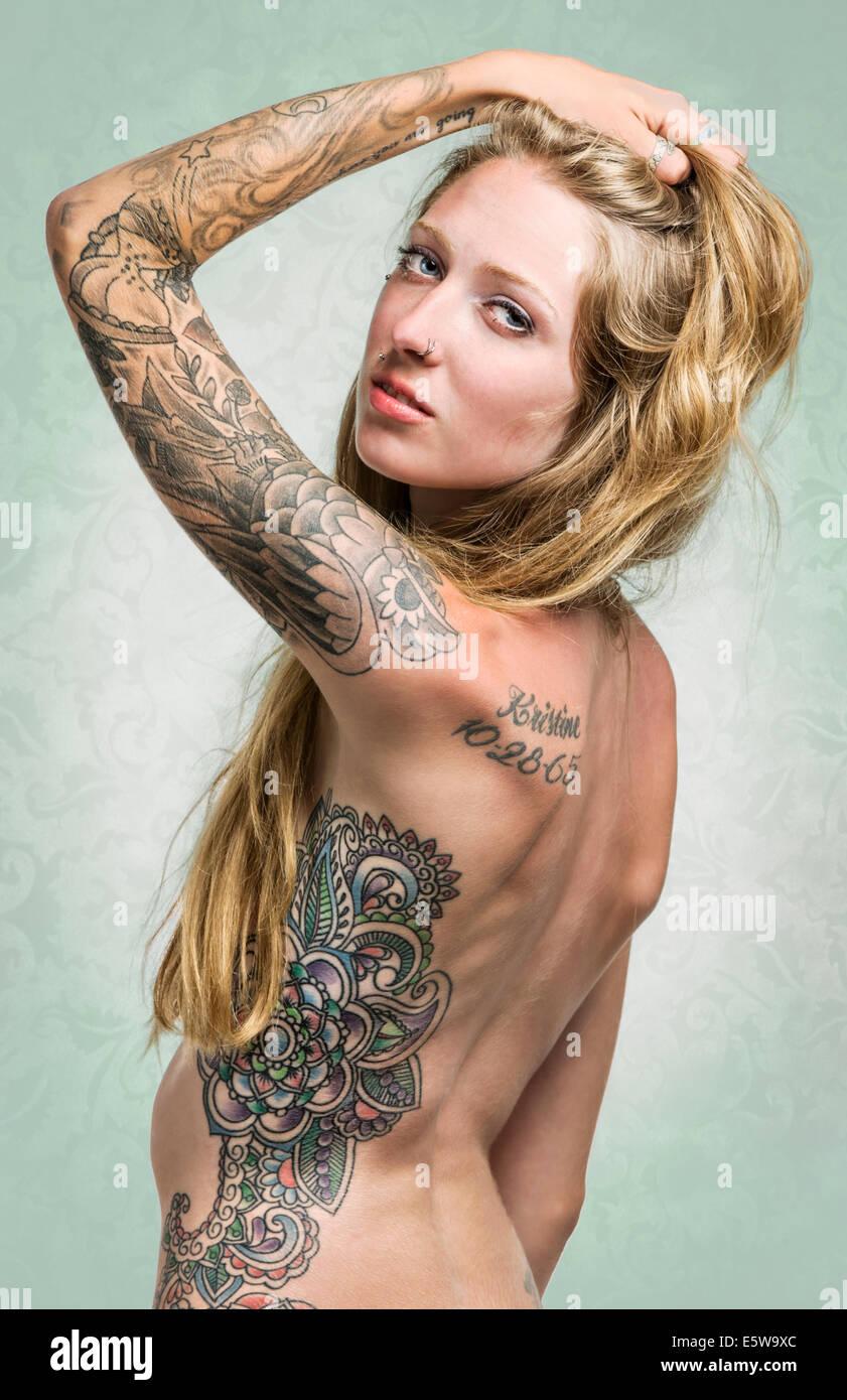 full body piercings nude