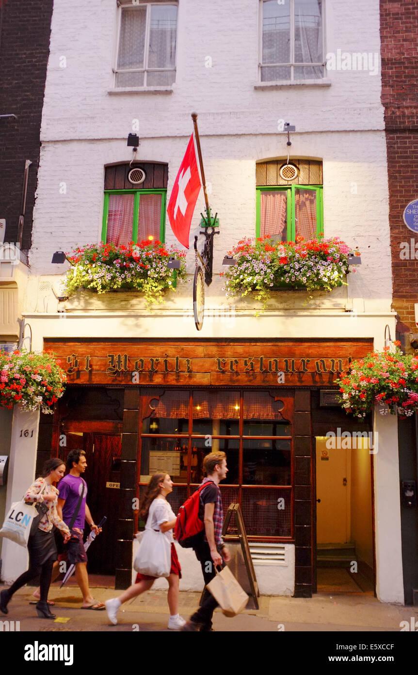 St Moritz Restaurant Ltd London